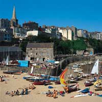Tenby Harbour Beach